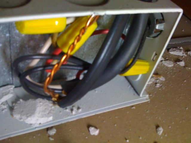 Improving home energy efficiency: removing recessed lighting ...